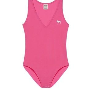 Victoria's Secret PINK Dog Bodysuit